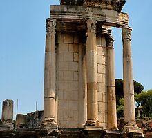 Temple of Vesta, Rome, Italy by buttonpresser