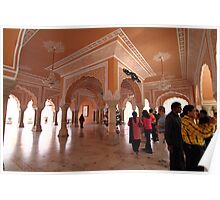 inside a palace Poster