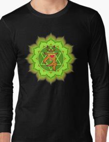 Lucky's Heart Chakra Long Sleeve T-Shirt