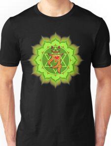 Lucky's Heart Chakra Unisex T-Shirt