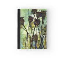 Poppy Seed Heads Hardcover Journal