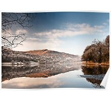 Wintery Grasmere Poster
