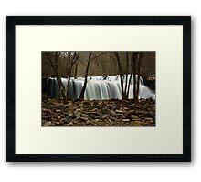 Brush Creek Falls Framed Print