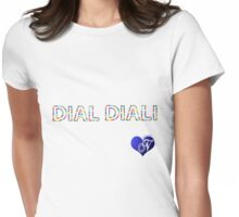 DIAL DIALI Womens Fitted T-Shirt