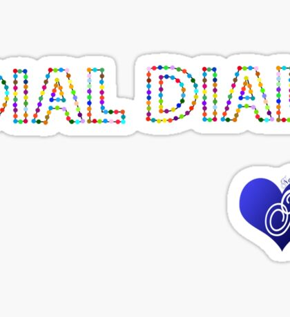 DIAL DIALI Sticker