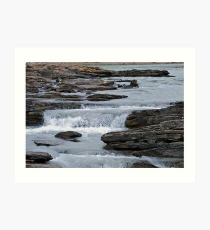 Before the Falls - Athabasca River Art Print