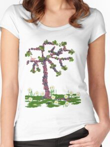 The fruit tree... Women's Fitted Scoop T-Shirt