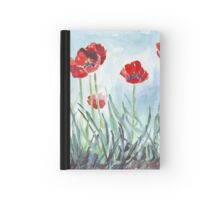 Poppies mean Spring! Hardcover Journal