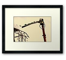 Demolition 1 Framed Print