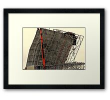 Demolition 3 Framed Print
