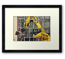 Demolition 4 Framed Print