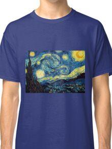 Vincent Van Gogh - Starry night  Classic T-Shirt