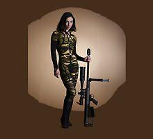 American Gun Show by Sazzart