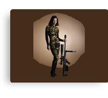 American Gun Show Canvas Print