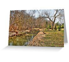 Creek Bend Greeting Card