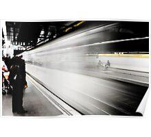 Taking the Metro Poster