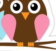 Owl love you Sticker