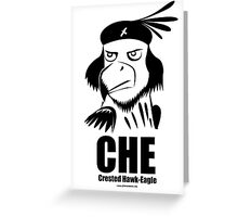CHE- Crested Hawk Eagle Greeting Card