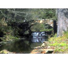 Stone Bridge in Pinhole Photographic Print