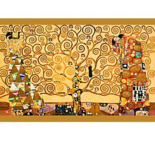 Gustav Klimt - The tree of life Photographic Print