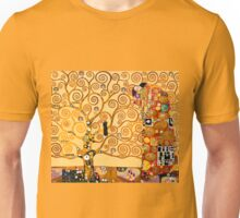 Gustav Klimt - The tree of life Unisex T-Shirt