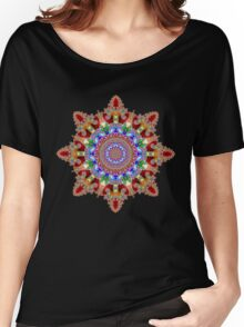 'Filigree Star' Women's Relaxed Fit T-Shirt