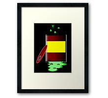 Toxic 2 by Chillee Wilson Framed Print