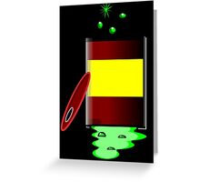 Toxic 2 by Chillee Wilson Greeting Card