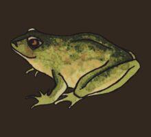 Little green frog, going solo by lottietc