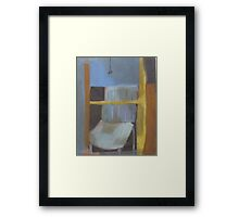 Chair in the Window Framed Print