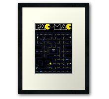 Pac-Mac Framed Print