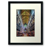 Shining Faith Framed Print