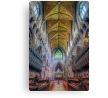 Shining Faith Canvas Print