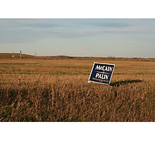 politics in the heartland Photographic Print