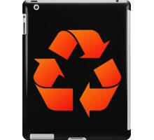 Recycle Symbol by Chillee Wilson iPad Case/Skin