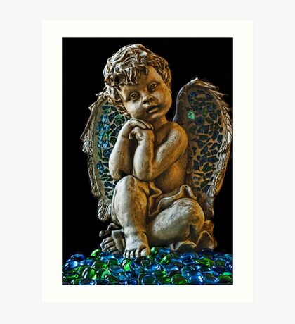 Angels among us Art Print