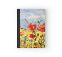 Wildflowers in Acrylics Hardcover Journal