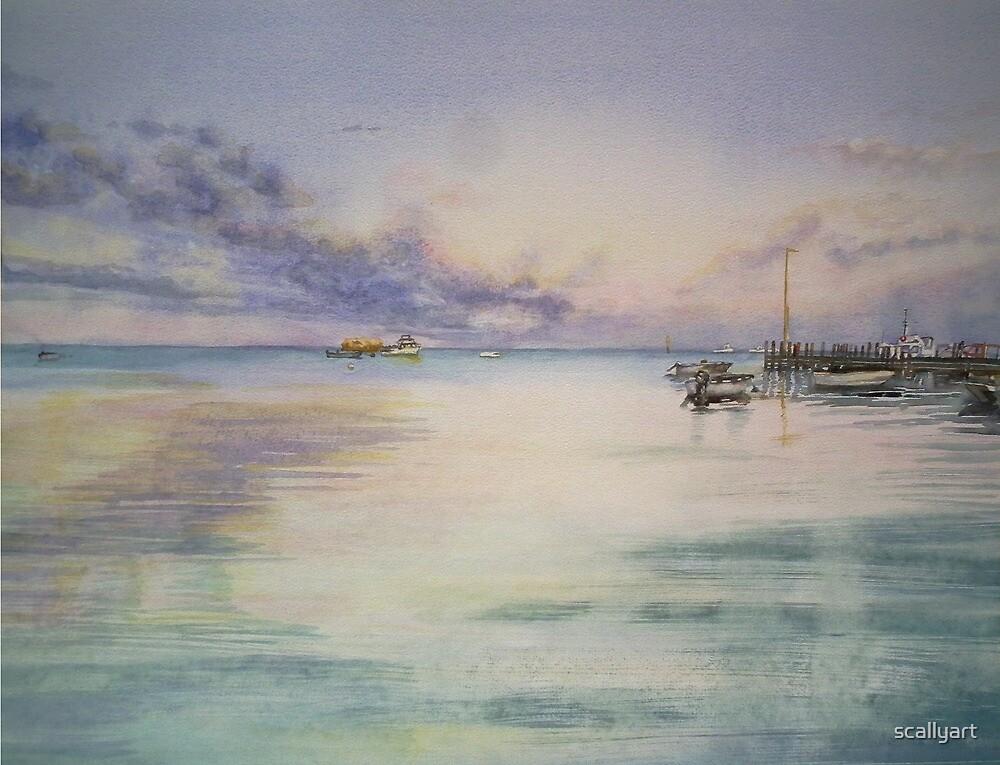 Leeman Jetty - Western Australia by scallyart