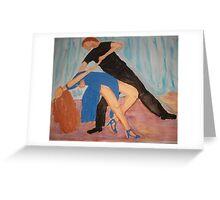 Tango : Dance of Love Greeting Card