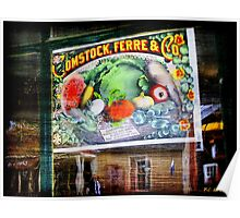Midnight in the Window of the General Store Poster