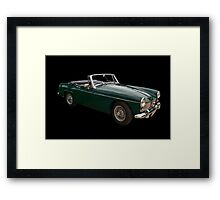 MG Midget MK3 Framed Print