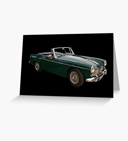 MG Midget MK3 Greeting Card
