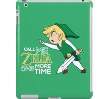 Call Me Zelda, Link iPad Case/Skin