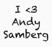 Andy Samberg T by YasLalu