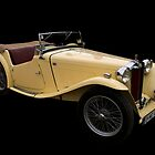 MG TC by Paul Gilbert