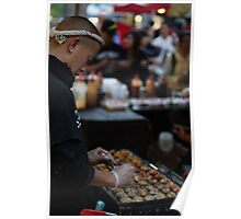 Street food in Chatswood Poster
