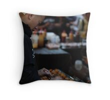 Street food in Chatswood Throw Pillow