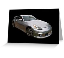 Nissan 350Z Greeting Card