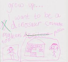 When I grow up . . . I want to be (Emily) by msdebbie