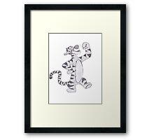 Tigger Framed Print